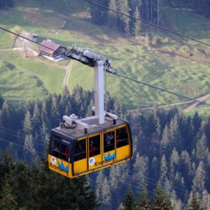 Europe Luxury Switzerland Vacation Cable Car Gondola Lift Alpine Alpstein Kronberg
