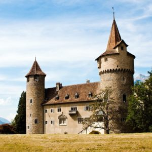Europe Luxury Switzerland Vacation Castle Architecture Medieval Fortification Exterior