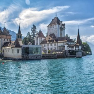 Europe Luxury Switzerland Vacation Castle Oberhofen Switzerland