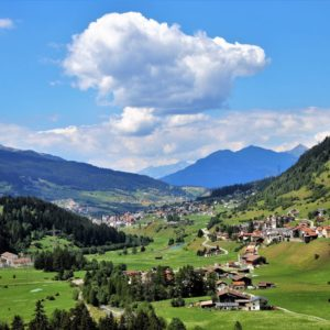 Europe Luxury Switzerland Vacation Far View The Alps Mountains The Prospect Of Morning