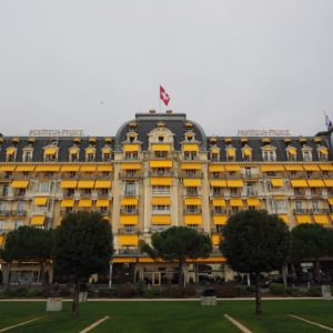 Europe Luxury Switzerland Vacation Hotel Building Architecture Montreux Palace