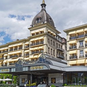 Europe Luxury Switzerland Vacation Interlaken Grand Hotel Victoria Jungfrau
