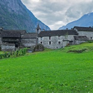 Europe Luxury Switzerland Vacation Rustico Ticino Stone House Val Bavona Val Maggia