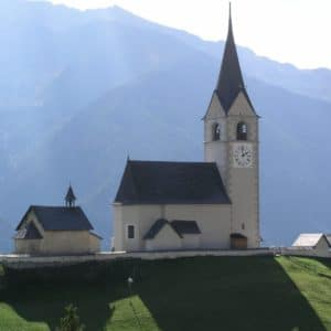 Europe Luxury Switzerland Vacation Switzerland Church Village Church Backlighting