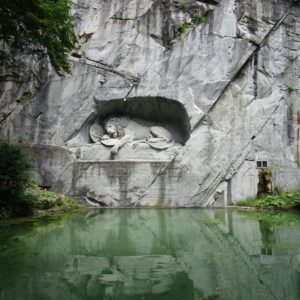 Europe Luxury Switzerland Vacation Switzerland Lion Swiss Monument Sculpture Europe
