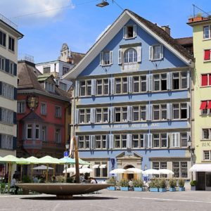 Europe Luxury Switzerland Vacation Zurich Switzerland Architecture Historic Center Sun