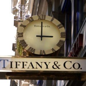 Europe Luxury Switzerland Vacation Zurich Switzerland Shop Sign Street Tiffany Clock