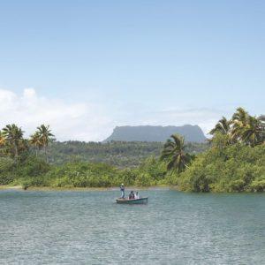 Ferry Ride Couple Baracoa Cuba Luxury Vacation