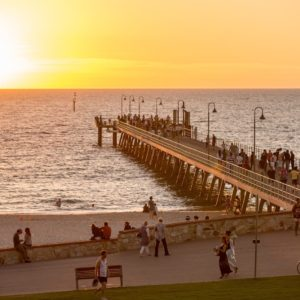 Glenelg Jetty Adelaide Sa Luxury Australia Vacation
