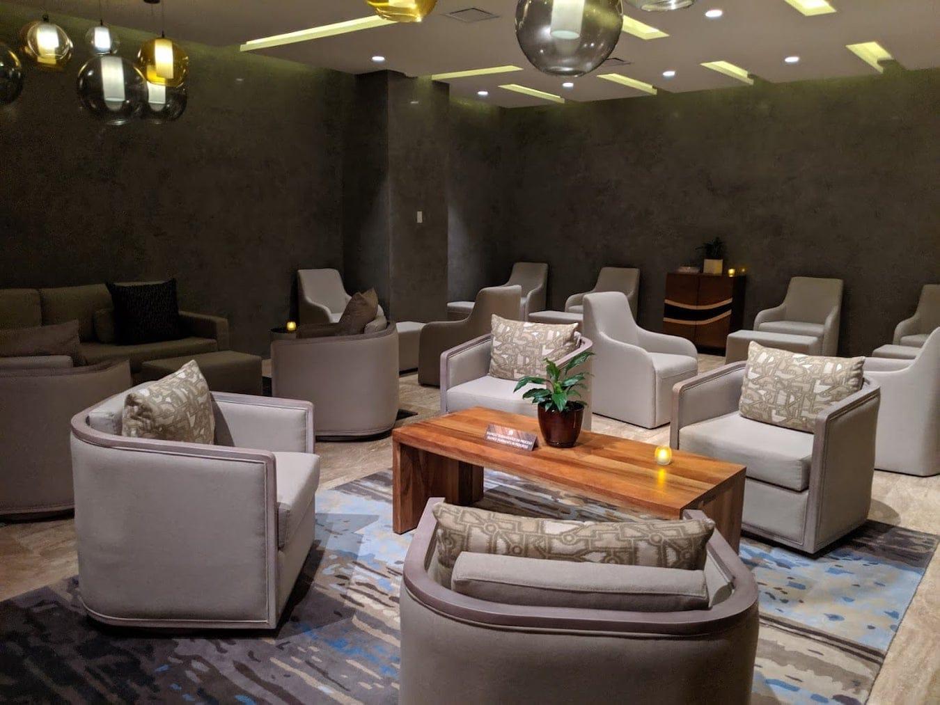 Hard Rock Los Cabos Indoor Spa Area