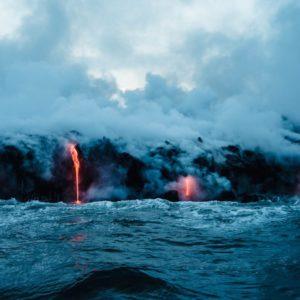 Hawaii Adventure Volcano Lava Water