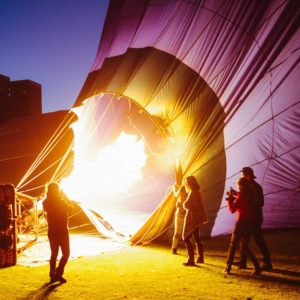 Hot Air Ballooning Melbourne Vic Luxury Australia Vacation