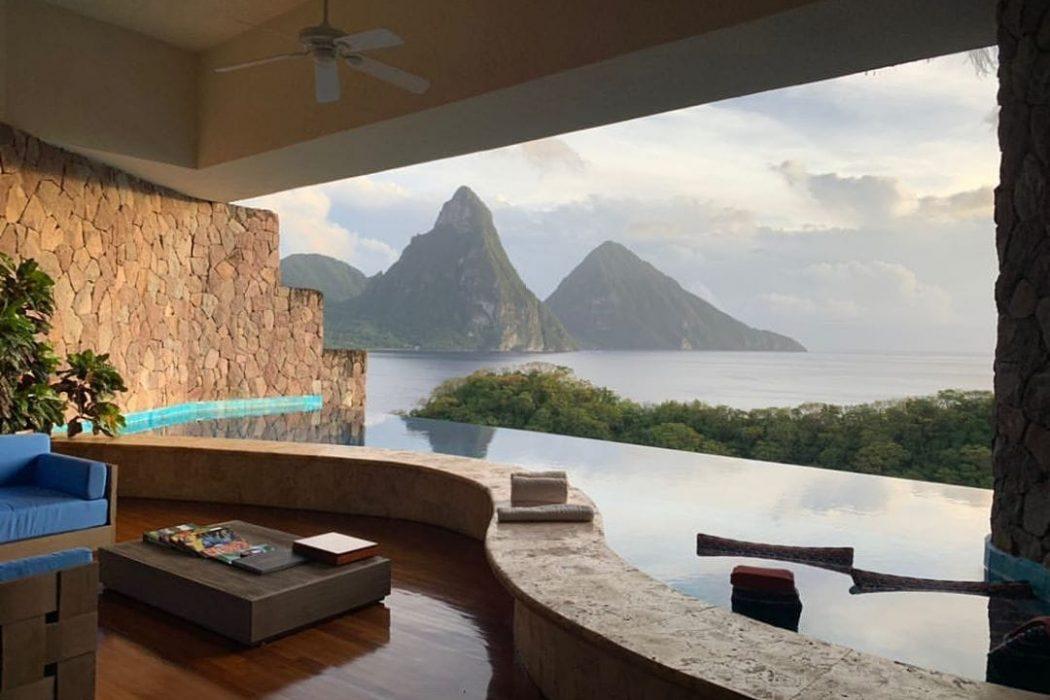 Jade St Lucia Luxury Honeymoon Vacation