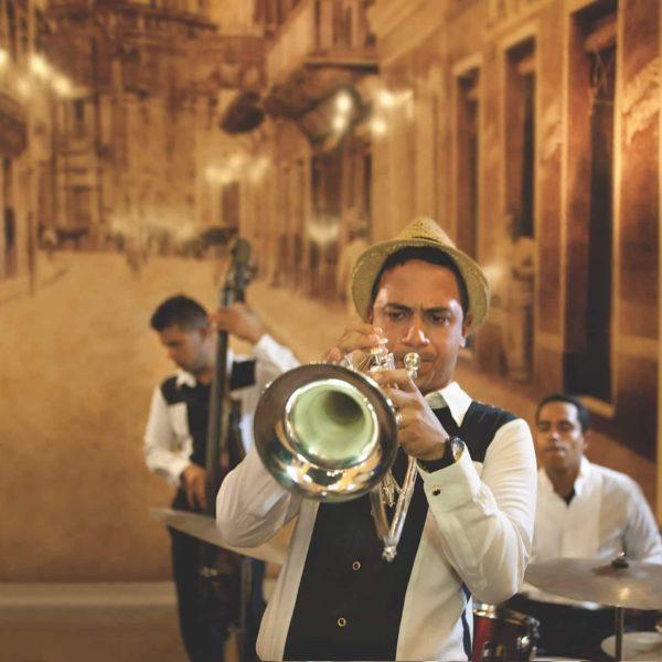 Cuba Luxury Vacation Jazz Club Trumpet Player Camaguey