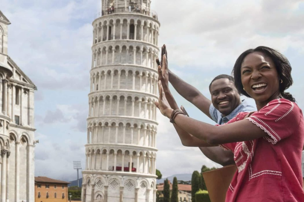 Leaning Tower Of Pisa Father Daughter Luxury Travel