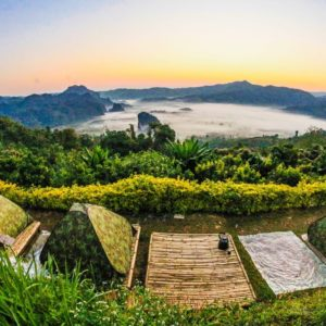 Luxury Thailand Vacation Background Beautiful Camp
