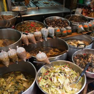Luxury Thailand Vacation Food Stall