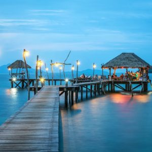 Luxury Thailand Vacation Jetty