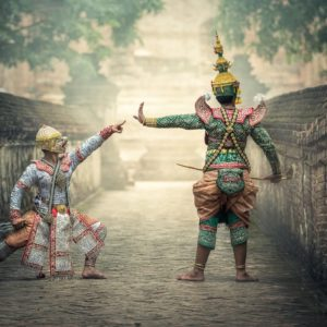 Luxury Thailand Vacation Traditional Actors Dress Actor