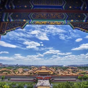 Luxury Vacation China Asia China Beijing Building The Scenery Tourism Cloud
