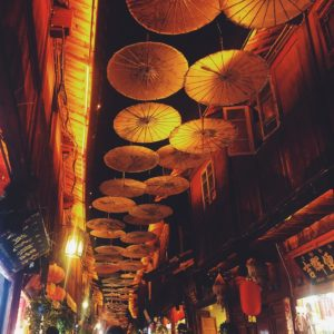 Luxury Vacation China Asia China Lijiang Market Street