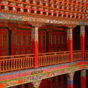 Luxury Vacation China Asia China Lijiang Monastery Buddhism Art