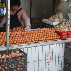 Luxury Vacation China Asia Eggs Egg Market Vendor Selling China