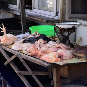 Luxury Vacation China Asia Market Chickens Meat Battles China Chicken