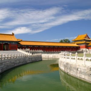 Luxury Vacation China Asia Roof China Dragon Forbidden City Architecture