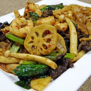 Luxury Vacation China Asia Spicy Vegetables Mushroom Food Fried Asian