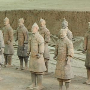Luxury Vacation China Asia Terracotta Warriors Xi An China Army Soldier