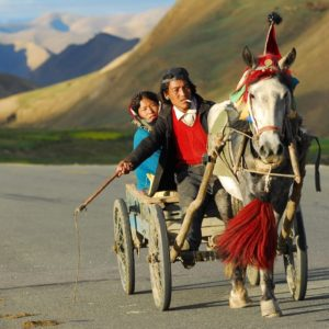 Luxury Vacation China Asia Tibet Transport Landscape Coach