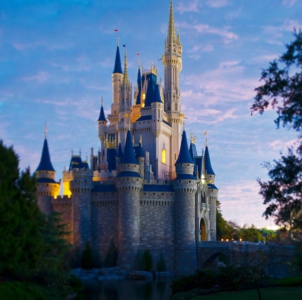 Magic Kingdom Castle Walt Disney World Vacation
