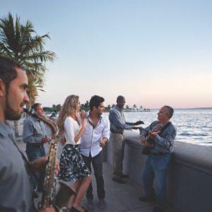 Cuba Luxury Vacation Malecon Couple Cienfuegos