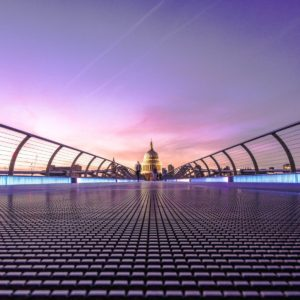 millennium bridge st pauls cathedral