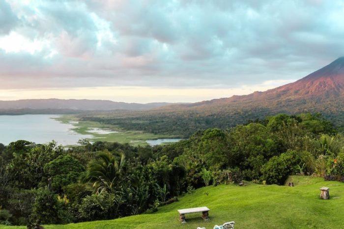 Nature Panoramic Panorama Landscape Sky Costa Rica