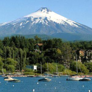 Pucoôn Vista Volcaôn Villarrica