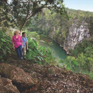 Cuba Luxury Vacation River Hike Couple Baracoa
