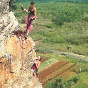 Cuba Luxury Vacation Rock Climbing Viñales