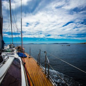 Sailing River Derwent Tas Luxury Australia Vacation