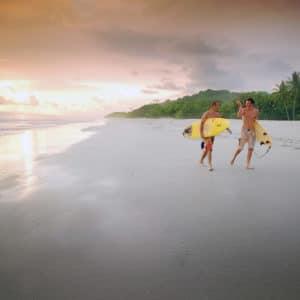Santa Teresa Beach Surfing Costa Rica Luxury Vacation