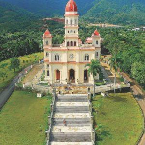 Santiago Basilica El Cobre Monumento Nacional