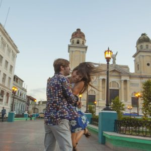 Cuba Luxury Vacation Santiago Couple Laughing