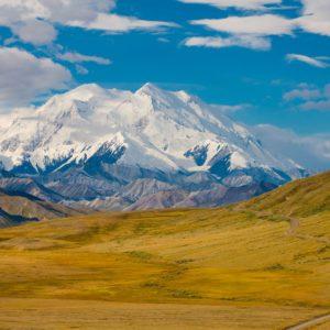 Snowcapped Mountains Summer Alaskan Luxury Vacation