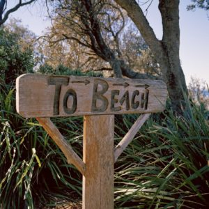 To Beach Sign Nsw South Coast Beaches Luxury Australia Vacation