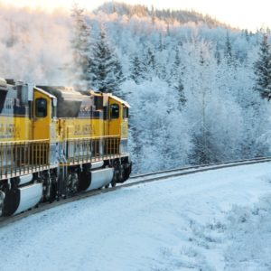 Train Alaska Travel Railway Railroad Winter Alaskan Luxury Vacation