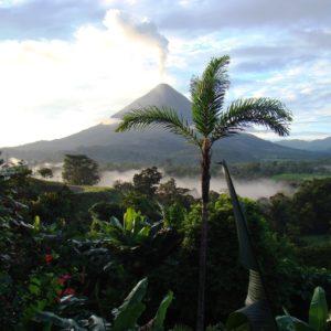 Volcano Eruption Costa Rica Arenal Lava Volcanic