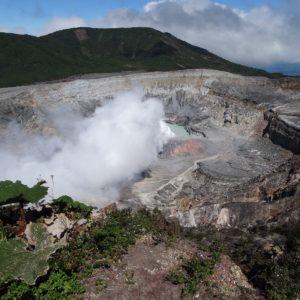 Volcano Poás Costa Rica Central America