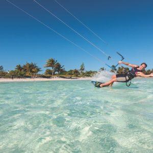 Windsurf Jardines Del Rey Kite Surfing Cuba Luxury Vacation